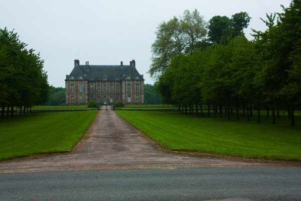 Chateau in the fields