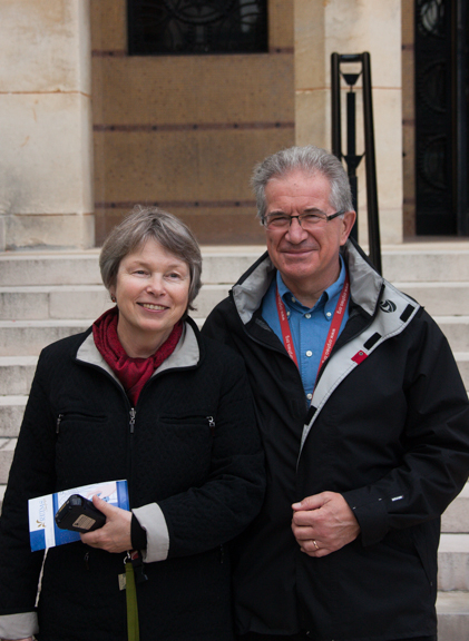 Mary & Gilles: tour guides extraordinaire