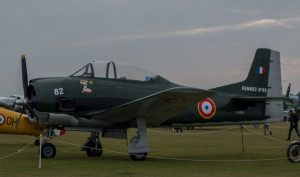 T28D - the French version of a plane I flew in Navy flight school