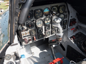 T28 cockpit, just as I remembered it.