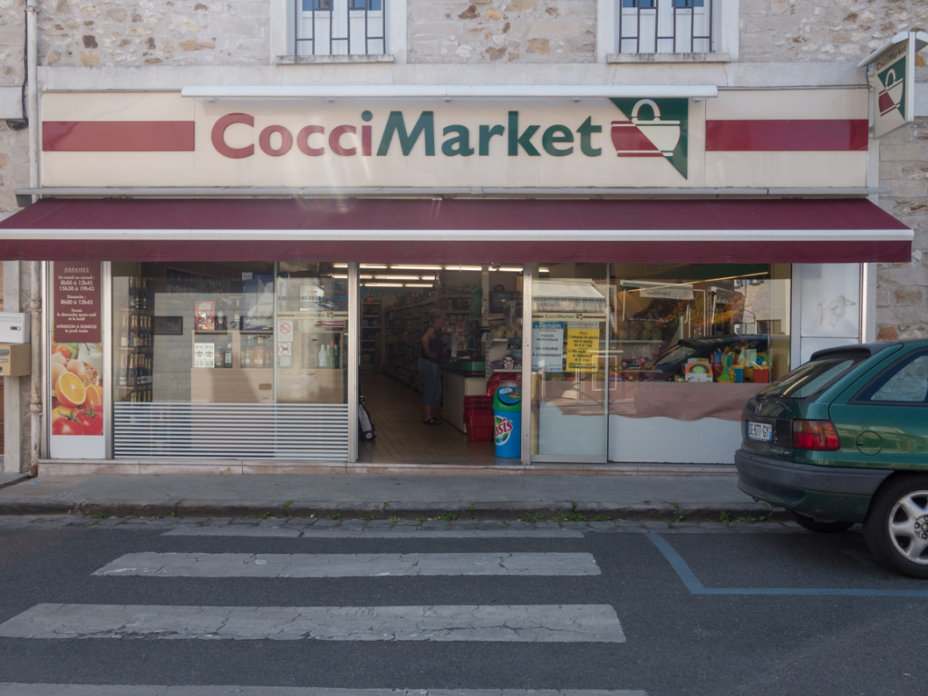 """A small """"has a little of everything"""" market near us. The U.S.. equivalent is a 7-11, with groceries and produce added."""