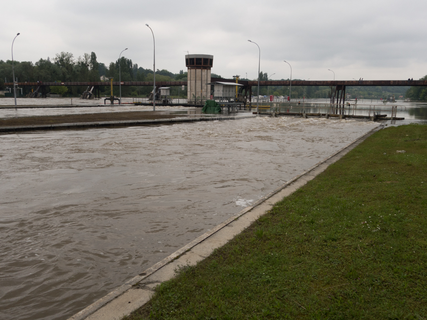 Main Lock at Chartrettes