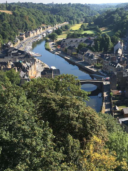 The Port of Dinan, on the Rance river. We didn't discover this until about 30 minutes before we had to leave, so we never walked down to it. Next time...